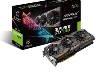 Asus ROG strix Geforce GTX1060 Graphics Card – 6GB