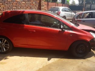 OPEL CORSA 1.4 2011 PARTS AND ENGINE FOR SALE