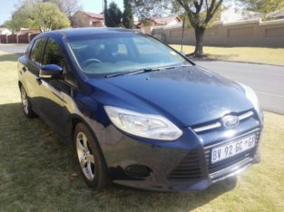 2013 Ford Focus 1.6 Sedan R81,999 Negotiable