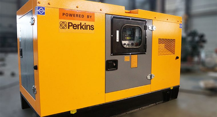 PERKINS 10KVA SILENT SINGLE PHASE DIESEL GENERATOR