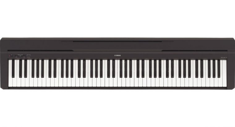 Yamaha P45 88-Key Weighted Action Digital Piano Black W/ Power Supply, Stand, Sustain Pedal & Bench