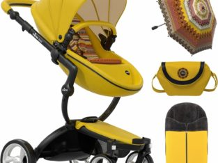 Mima Xari Complete Stroller, Limited Edition – Yellow