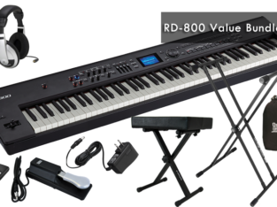 Roland RD-800 Stage Piano Bundle