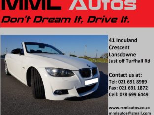 BMW 335i TWIN TURBO CONVERTIBLE A/T