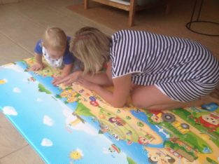Fruit Farm Play Mat