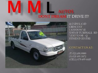 FORD RANGER 1800 LWD SINGLE CAB