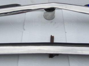 Mercedes W123 Sedan bumper kit (1976 – 1985) stainless steel