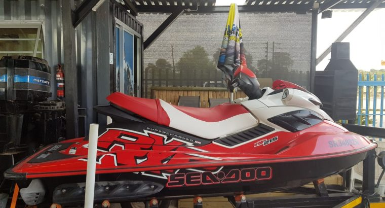 2007 Seadoo RXP 215Hp Supercharged