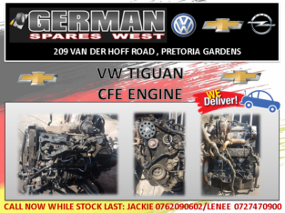 VW Tiguan used CFE Engine for sale