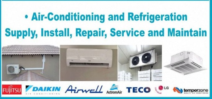 Residential & Commercial Air-conditioner Installation 072 705 7501, Re-gassing, Services.