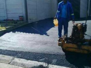 Tar Surfaces and Paving civil works ,road construction,and maintenance