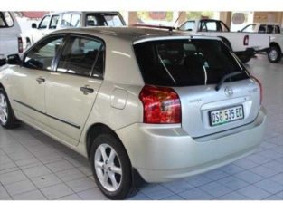 Toyota runx for sale in good condition