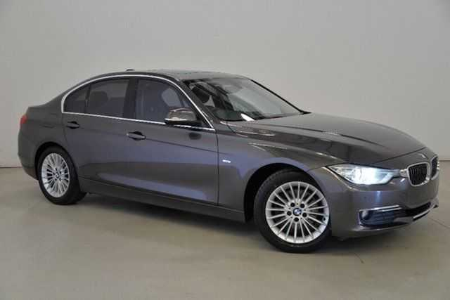 2012 BMW 320D F30  Grey 8 Speed Sports Automatic Sedan