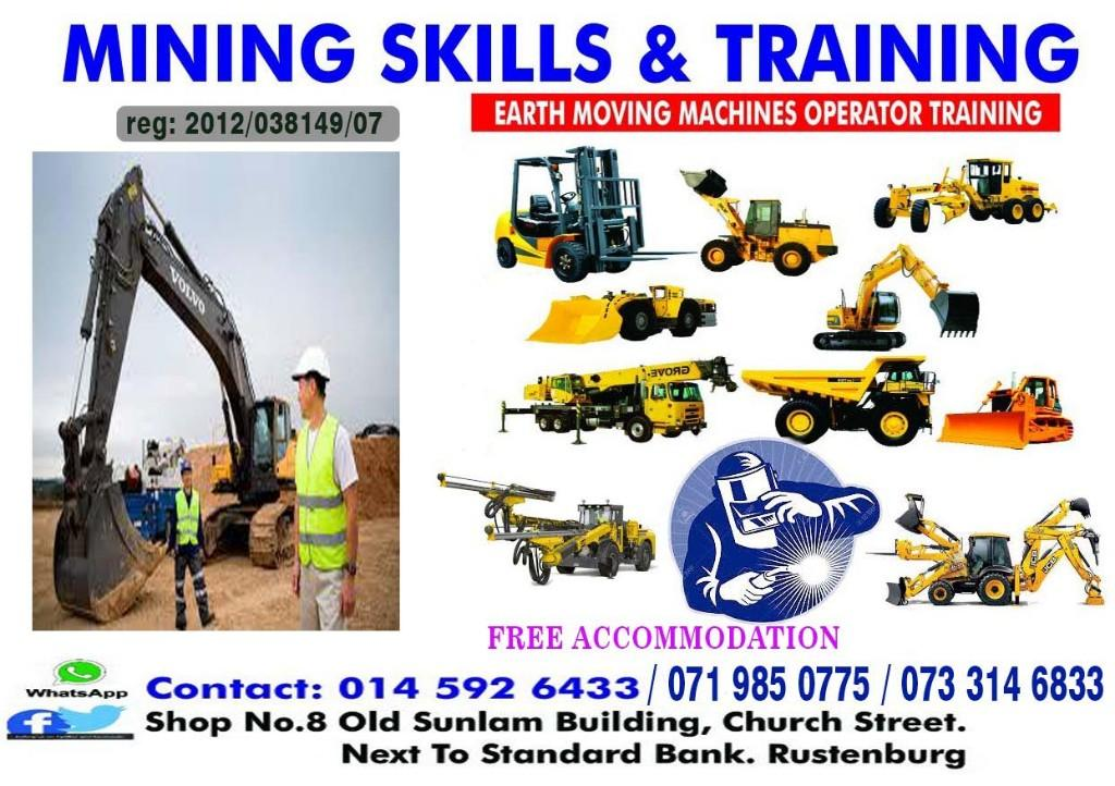 Trade test certificate boilermaker course 777 dump truck excavator grader training call 0733146833