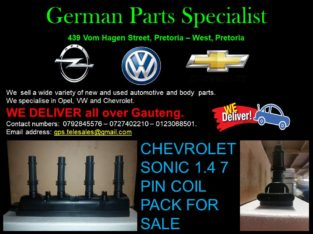 CHEVROLET SONIC 1.4 7PIN COIL PACK FOR SALE