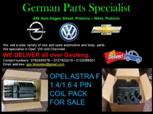 OPEL ASTRA F 1.4 or 1.6 4 PIN COIL PACK FOR SALE