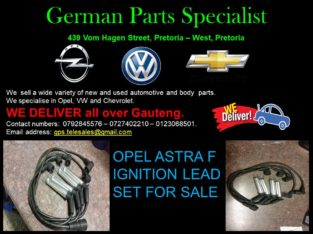 OPEL ASTRA F IGNITION LEAD SET FOR SALE