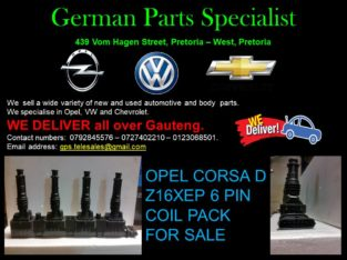 OPEL CORSA D Z16XEP 6 PIN COIL PACK FOR SALE