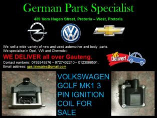 VOLKSWAGEN GOLF 1 3 PIN IGNITION COIL FOR SALE
