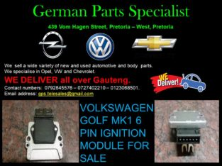 VOLKSWAGEN GOLF 1 6 PIN IGNITION MODULE FOR SALE