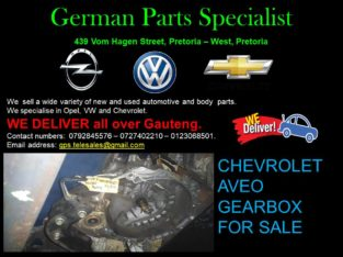 CHEVROLET AVEO GEARBOX FOR SALE