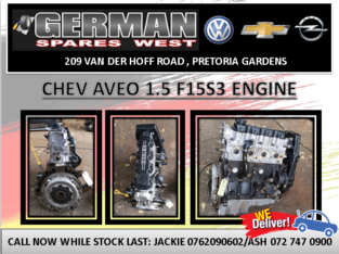 CHEV AVEO 1.5 USED ENGINE FOR SALE