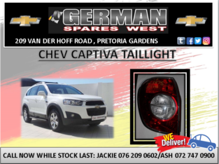 CHEV CAPTIVA USED TAILLIGHT FOR SALE