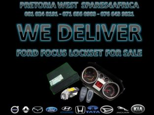 FORD FOCUS LOCK SET FOR SALE