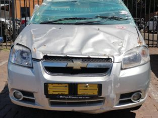 CHEV AVEO 1.6 LS 2016 SILVER CAR PARTS AND ENGINE FOR SALE