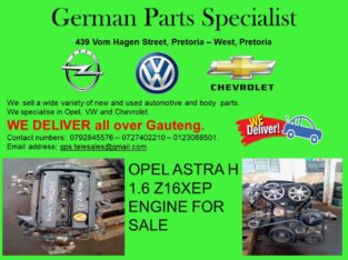 OPEL ASTRA H 1.6 Z16XEP ENGINE FOR SALE