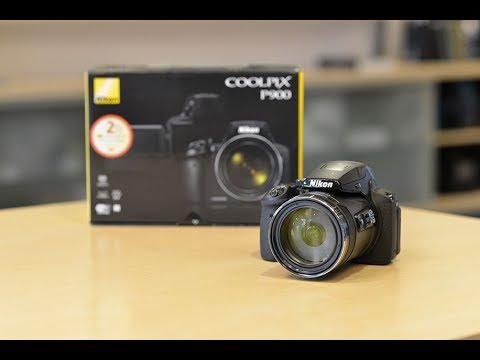 Nikon COOLPIX P900 Digital Bridge Camera Bundle
