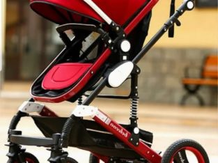 Fashionable shocking proof luxury baby stroller 3 in 1 reversible