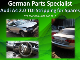 Audi A4 2.0 TDI Stripping for Spares