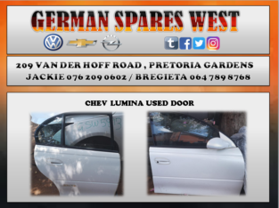 CHEV LUMINA USED RIGHT REAR AND FRONT DOOR FOR SALE