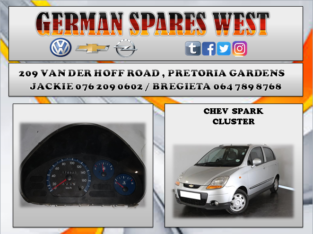 CHEV SPARK LITE USED CLUSTER FOR SALE