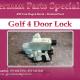 Golf 4 Door Lock