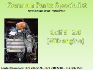 Golf 5 2.0 (ATD engine) for sale
