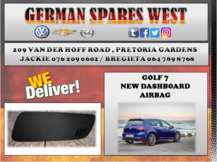 GOLF 7 NEW DASHBOARD AIRBAG FOR SALE