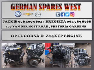 OPEL CORSA D Z14XEP ENGINE FOR SALE