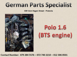 Polo 1.6 (BTS engine) for sale