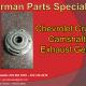 Chevrolet Cruze Camshaft Exhaust Gear