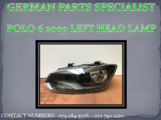 Polo 6 2009 Right Side Head Lamp