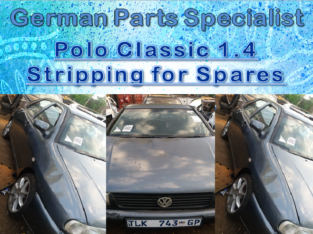 POLO CLASSIC 1.4 STRIPPING FOR SPARES
