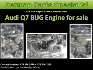 Audi Q7 BUG Engine for Sale