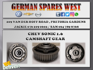 CHEV SONIC 1.6 CAMSHAFT GEAR FOR SALE