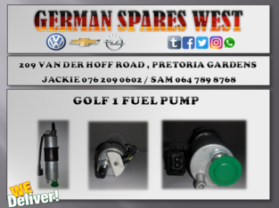 GOLF 1 NEW FUEL PUMP FOR SALE