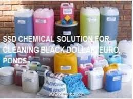 ssd chemicals for cleaning black notes and activat