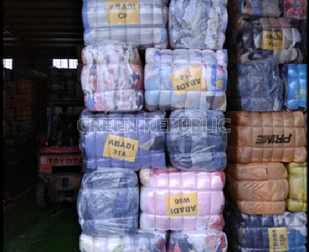 Bale of clothes, jackets, winter and summer wears,