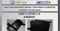 CHEV AVEO 1.6 NEW AIRBOX FOR SALE