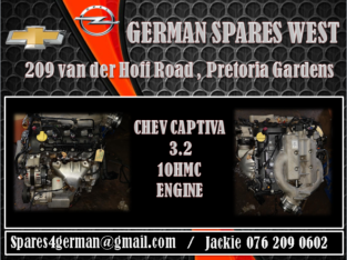 CHEV CAPTIVA 3.2 10HMC ENGINE